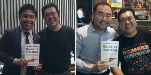Left: Mr. Stock Smarts, Marvin Germo Right: Real Estate Investor, Carl Dy