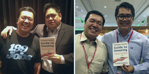 Left: Registered Financial Planner Institute Philippines Director, Randell Tiongson Right: Trading Edge Consultancy Founder, Ron Acoba