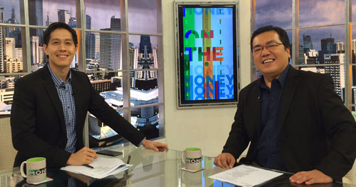 RFP and author, Fitz Villafuerte, during his guesting in ANC On The Money